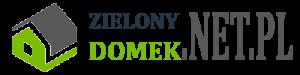 logo zielony domek