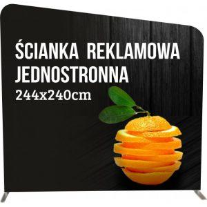 ścianka reklamowa